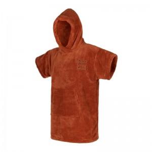 Prosop poncho juniori Mystic Teddy Junior rusty red