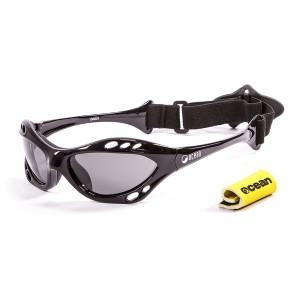 Ochelari Ocean Cumbuco Shiny Black & smoke lens
