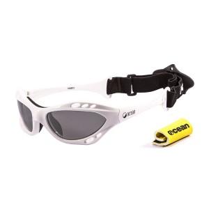 Ochelari Ocean Cumbuco Shiny White & smoke lens