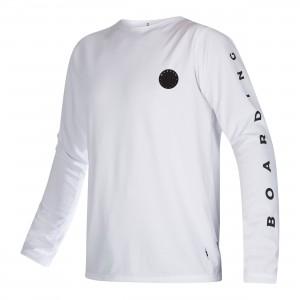 Bluză UV bărbați Mystic The One L/S Quickdry white