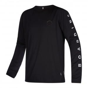 Bluză UV bărbați Mystic The One L/S Quickdry black