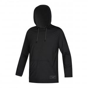 Bluză UV bărbaţi Mystic Chiller Hooded L/S Rashvest Loosefit black