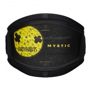 Centură kite bărbați Mystic Majestic Waist Harness Dirty Habits black yellow