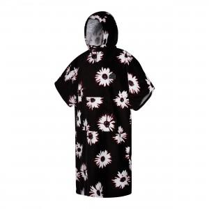 Prosop poncho adulţi Mystic Velour black/white