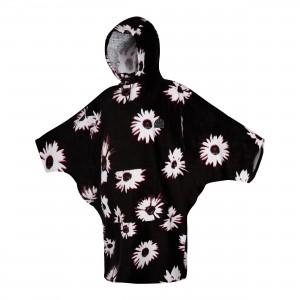 Prosop poncho femei Mystic Poncho Women Black
