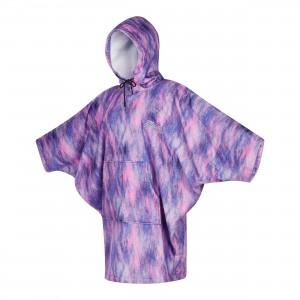 Prosop poncho femei Mystic Poncho Women Black/Purple