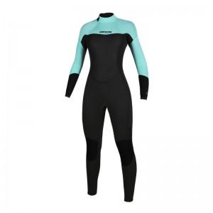Costum neopren femei Mystic Brand 3/2 Fullsuit Bzip Flatlock Women
