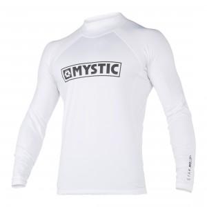 Bluza UV Mystic Star L/S Rashvest Junior white