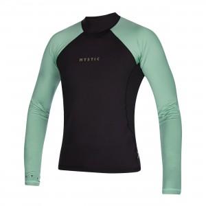 Bluză UV bărbați Mystic Crossfire L/S Rashvest sea salt green