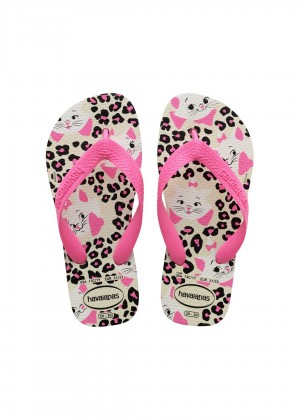 Slapi HAVAIANAS Top Marie white/shocking pink