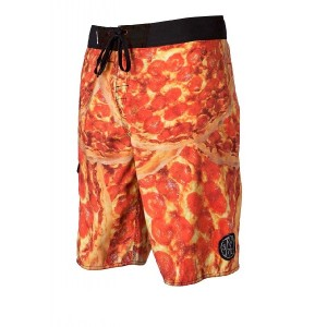Pantaloni de plajă bărbați Pizza Boardshort