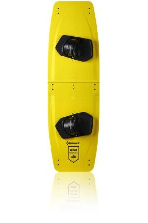 Placă de kiteboarding KE Revolt Split Kiteboard yellow