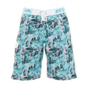 Pantaloni de plajă bărbați 69Slam Long Lengh Boardshort Banana Leaf