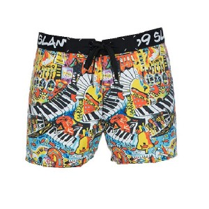 Pantaloni de plajă bărbați 69Slam Classic Boardshort Rafa City