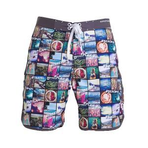 Pantaloni de plajă bărbați 69Slam Medium Lenght Boardshort Hashtag