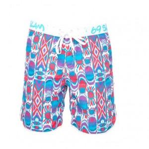 Pantaloni de plajă bărbați 69Slam Short Length Boardshort Ikat